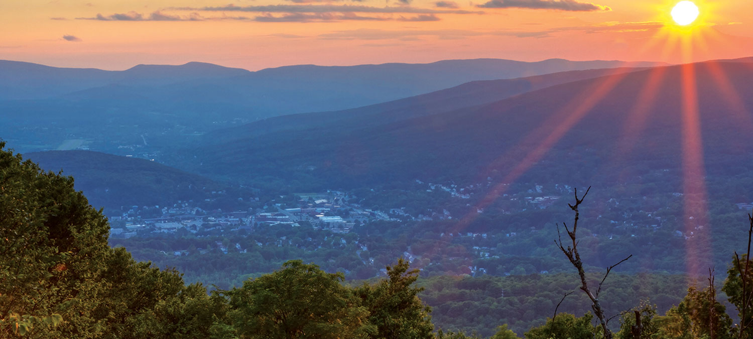 Take a Closer Look at where we live. Your source for Berkshire Taconic region data
