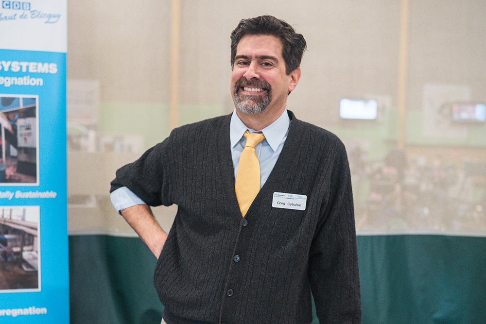 Gregory Cybulski of Rousselet Robatel