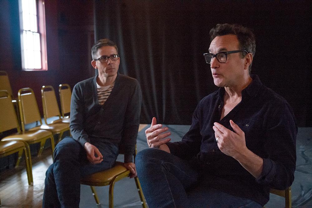 Jeff Mousseau and Paul Ricciardi of the Ancram Opera House